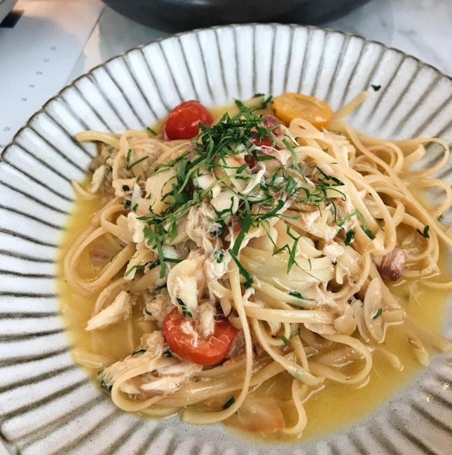Crabmeat Pasta ($25)