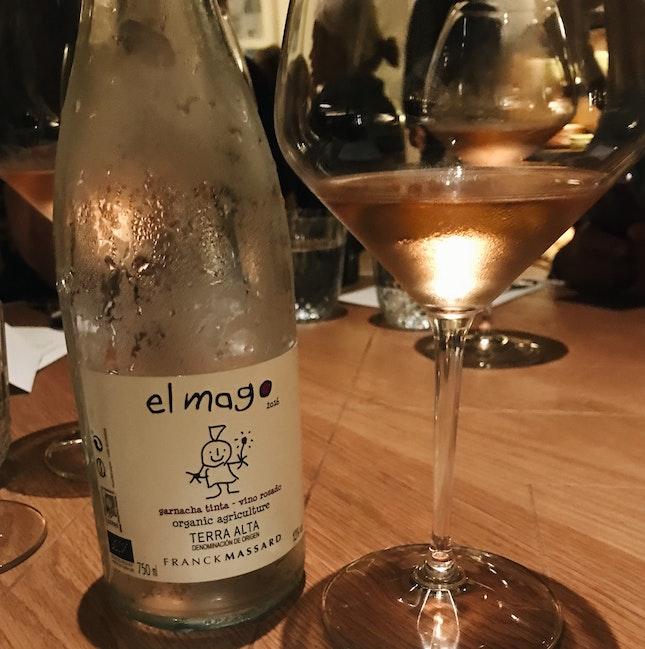 """Franck Massard """"El Mago"""" Rosé ($14 for a glass, $66 for a bottle)"""