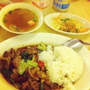 Basil Beef Rice
