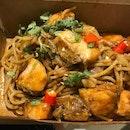 Tomyum salmon pasta , my 2nd try at Eatz19 ..