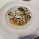 Shellfish pasta.