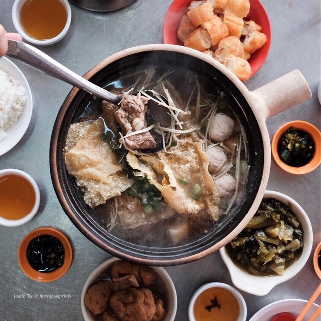 Claypot bak kut teh (estimated to be RM60)