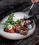 Australian Lamb Chop ($37++).