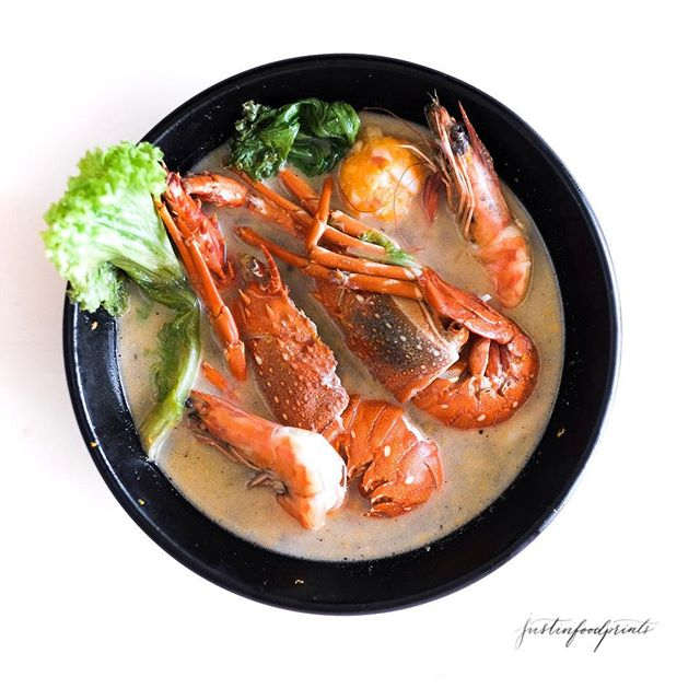 Lobster Seafood Soup ($28).