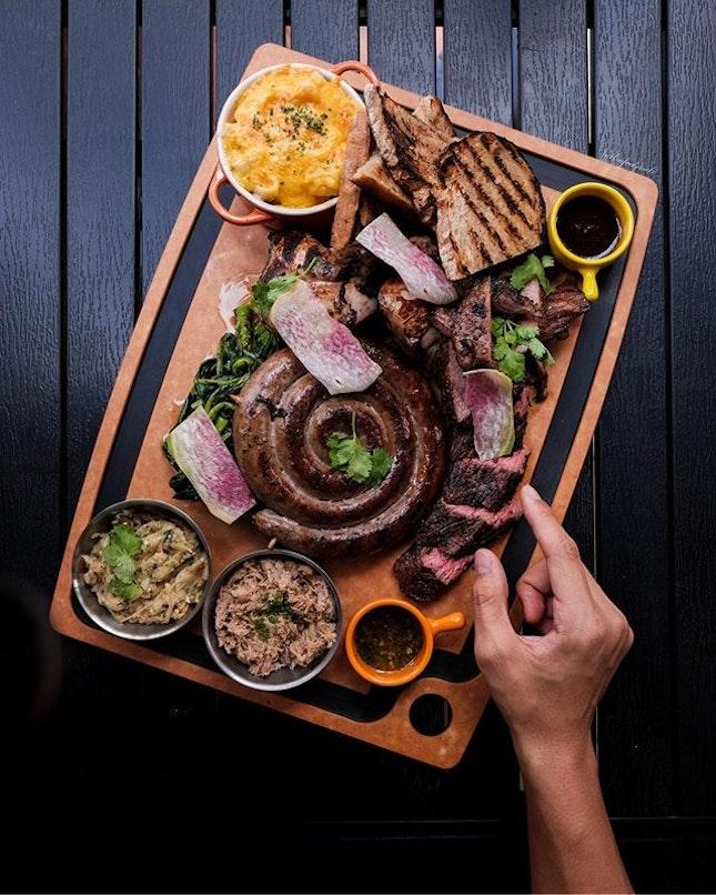 Meat Platter ($148++, feeds 3-4 pax).