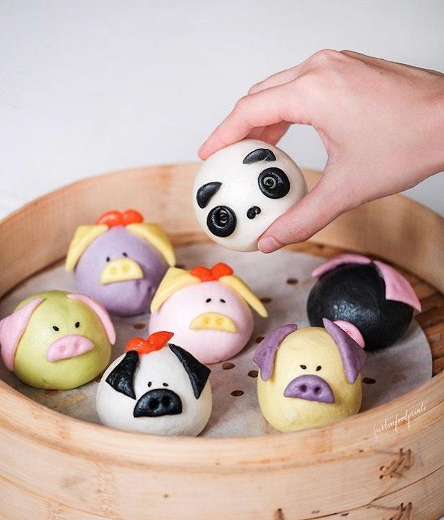 Panda Bao and Little Twin Piglets ($1.90).