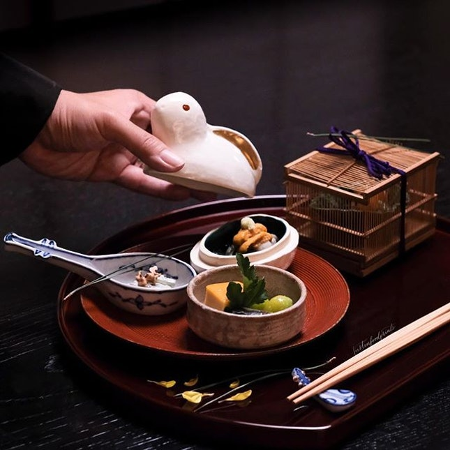 [New Blog Post] I've finally blogged about this Michelin starred kaiseki restaurant.