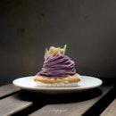 [Photography Tip 1, within] Oimo, Japanese Sweet Potato Tart (~$7).