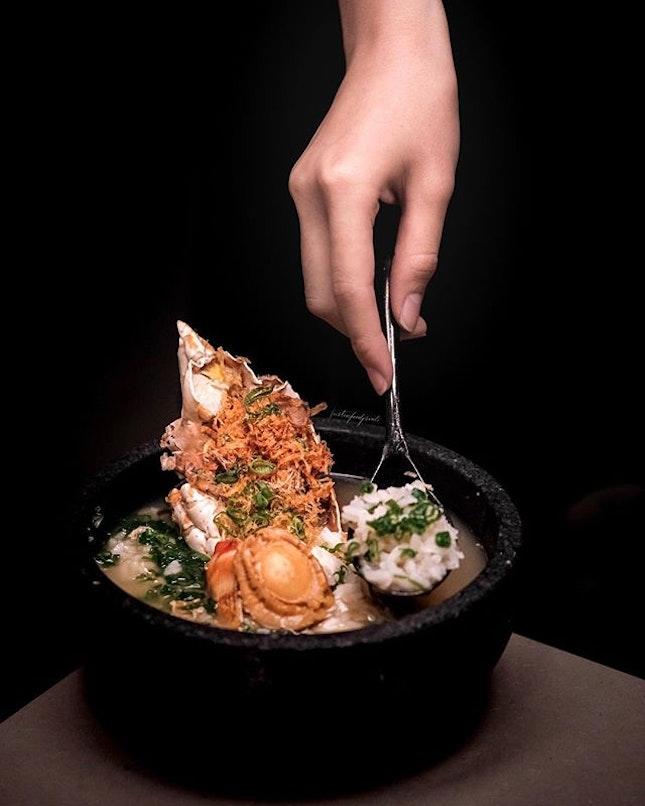 Lobster Porridge ($36).