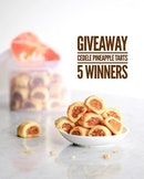 [GIVEAWAY] A Tub of Pineapple Tarts (worth $22.80) each to 5 lucky winners.