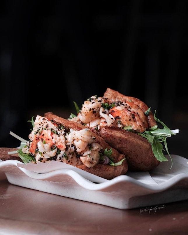 Lobster Taiyaki ($26 a pair).