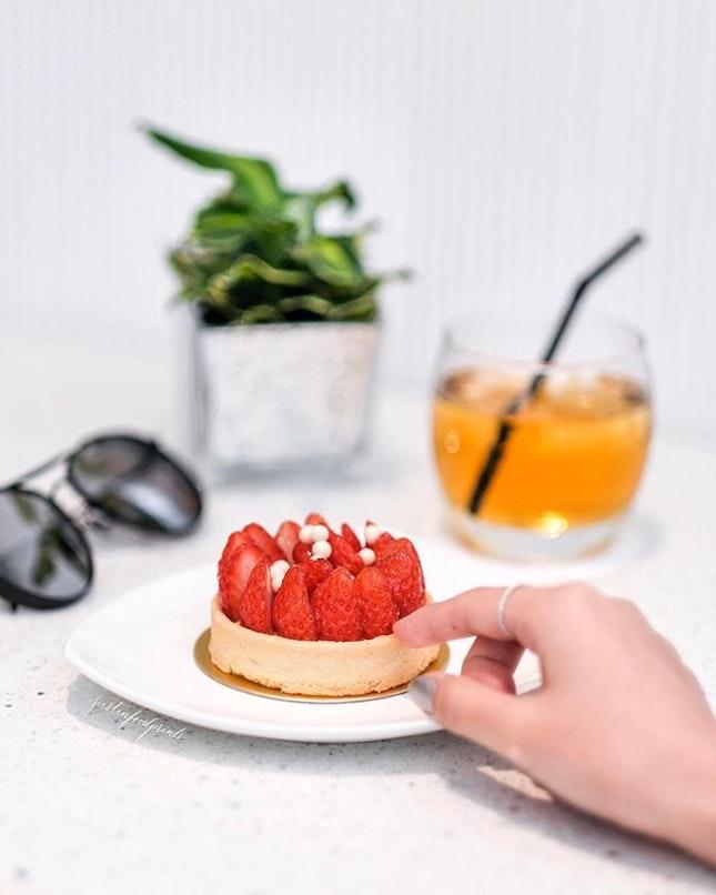 Strawberry Tart ($10).