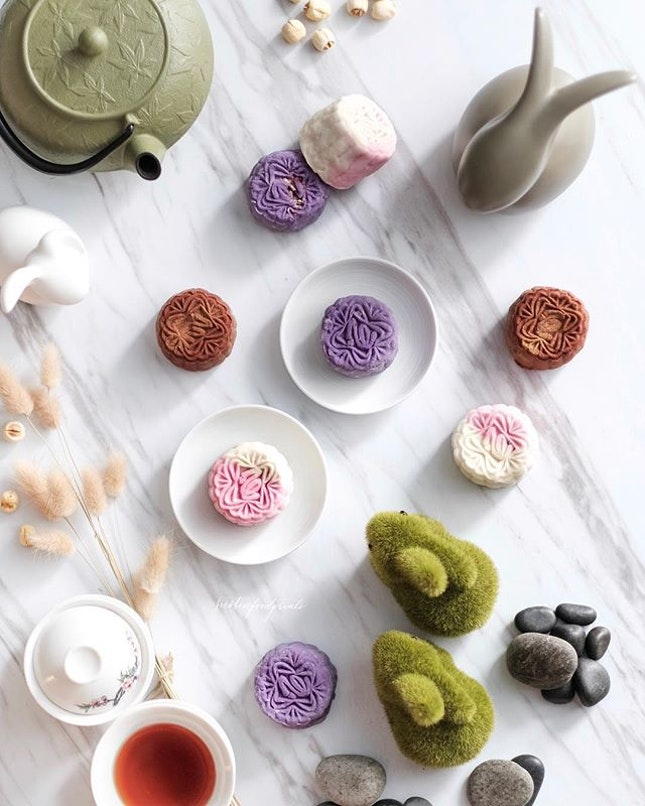 New Mini Snowskin Flavours ($72 for 8 pieces).