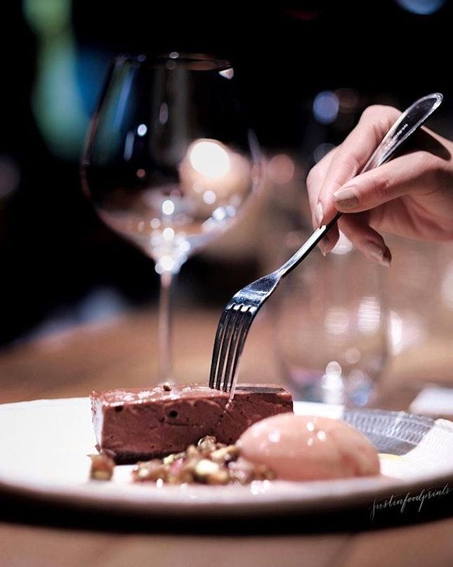 Chocolate Pave ($15).