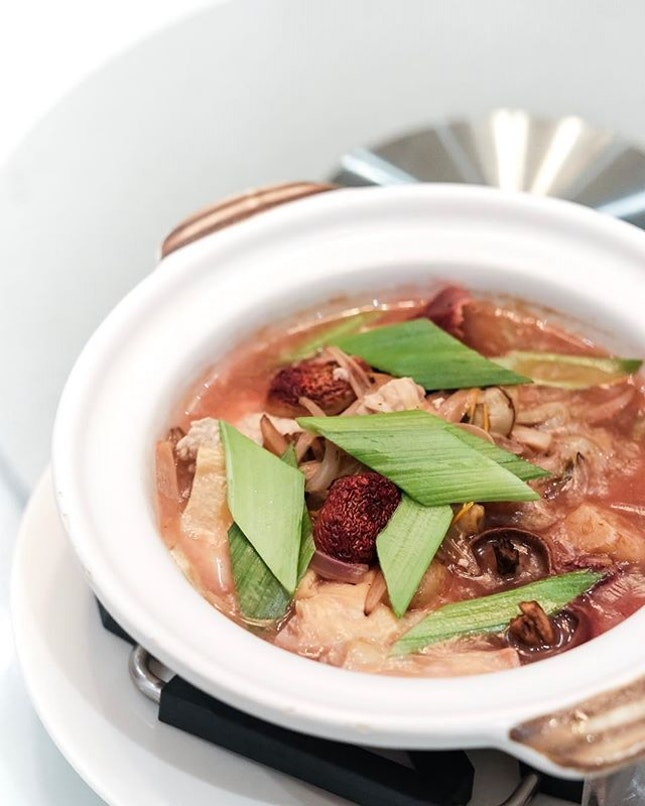 [New Limited Time Dish] Red Mushroom with Braised Beancurd Skin ($42.80 for medium)