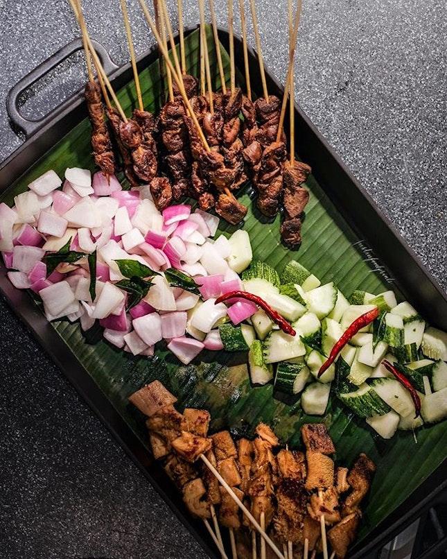 Chef Bryce's Satay (inclusive in the buffet).
