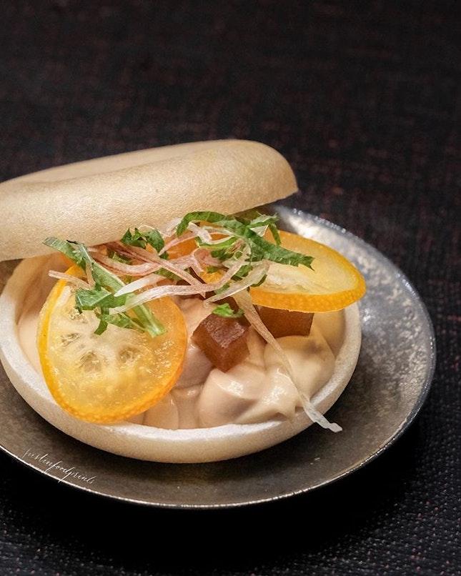 Foie Gras Parfait (dinner omakase from $238++ onwards).