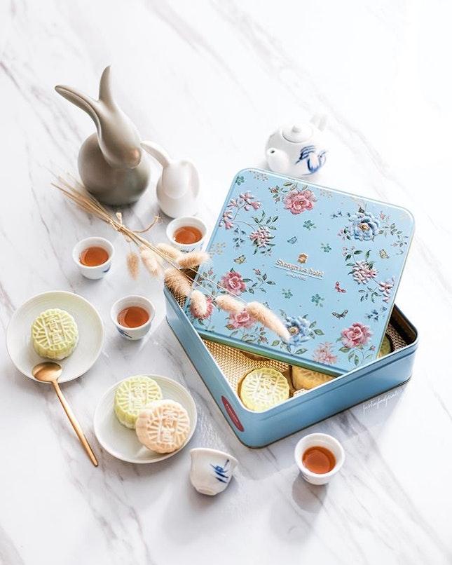 Shang Palace Mini Snowskin Mooncakes ($80).