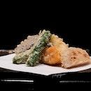 Mizuki Tempura ($80, $100, or $180 for lunch tempura omakase).