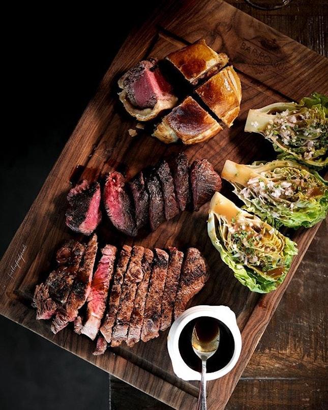 Beef Platter ($90).