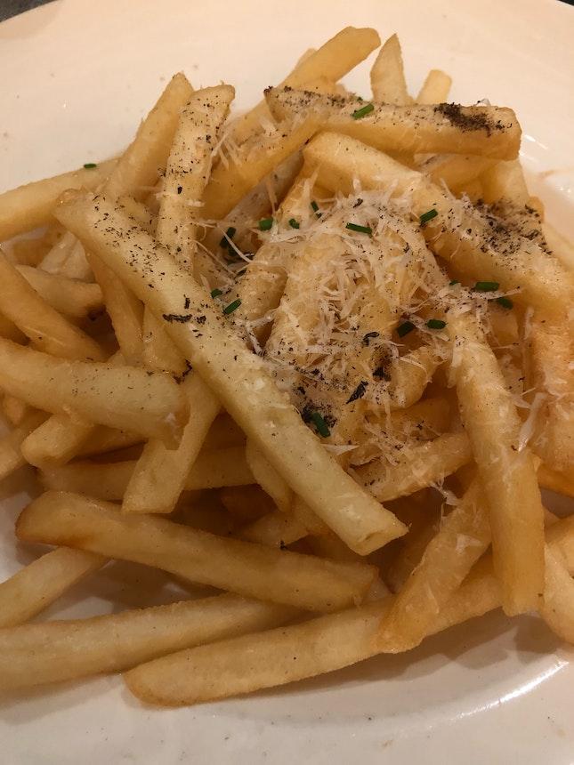 Truffle Fries ($14++)