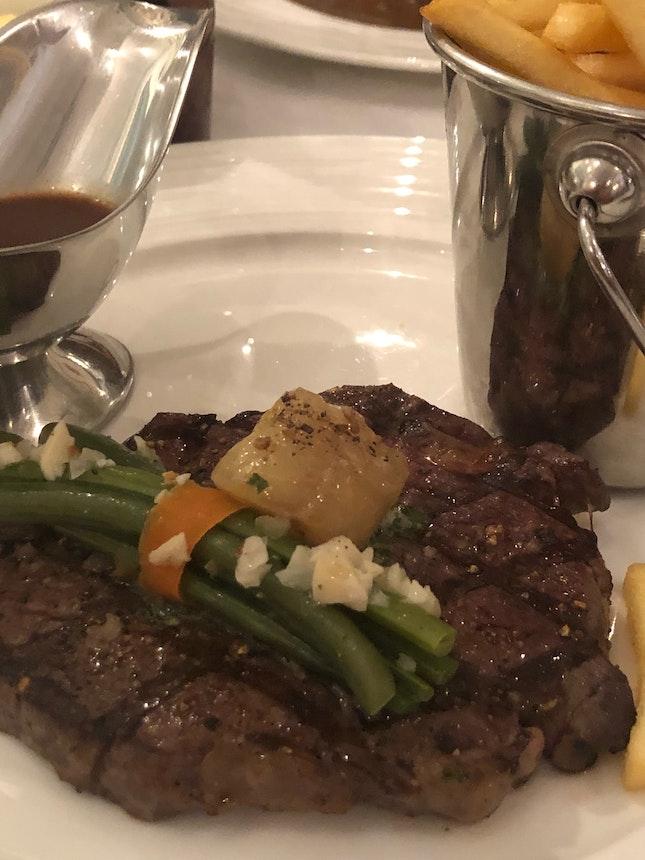 Entrecôte Grillée Sauce Bordelaise (Part of $38++ Set Lunch)