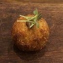 Blood Sausage Arancini (a steal @ $3++)
