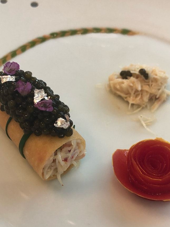 Crabe Caviar (not fantastic; part of $175++ menu)