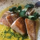 The Fish is too dry and the sauce too sweet ($32++)