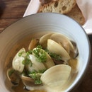 Steamed Clams With Super sweet sauce ($22++)