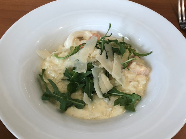 Risotto (part of set lunch menu)
