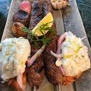 Mushy And Bland Beef Kebab ($34++)