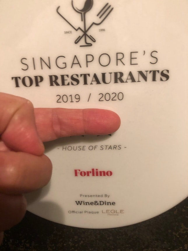 Forlino Does NOT deserve 2 Stars by Wine&Dine