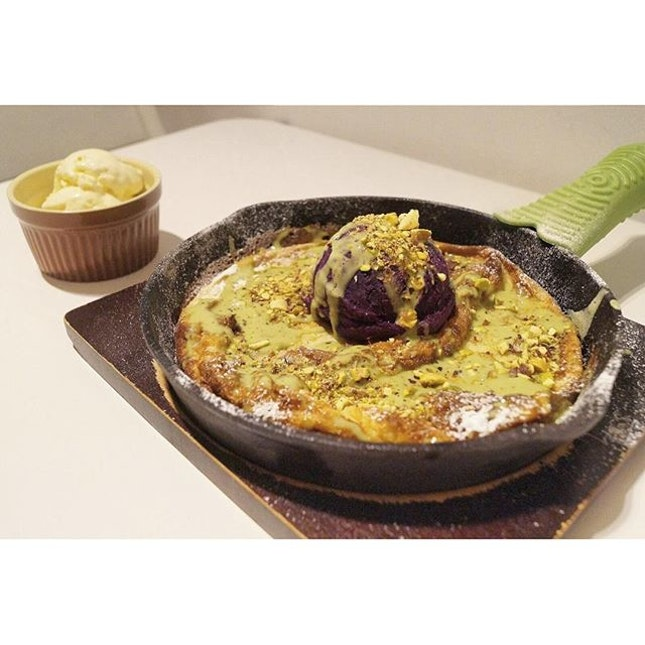 Grand Marnier Sweet Potato Pancake