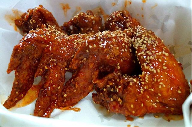 What's KFC (Korean Fried Chicken) without some spicy wings?