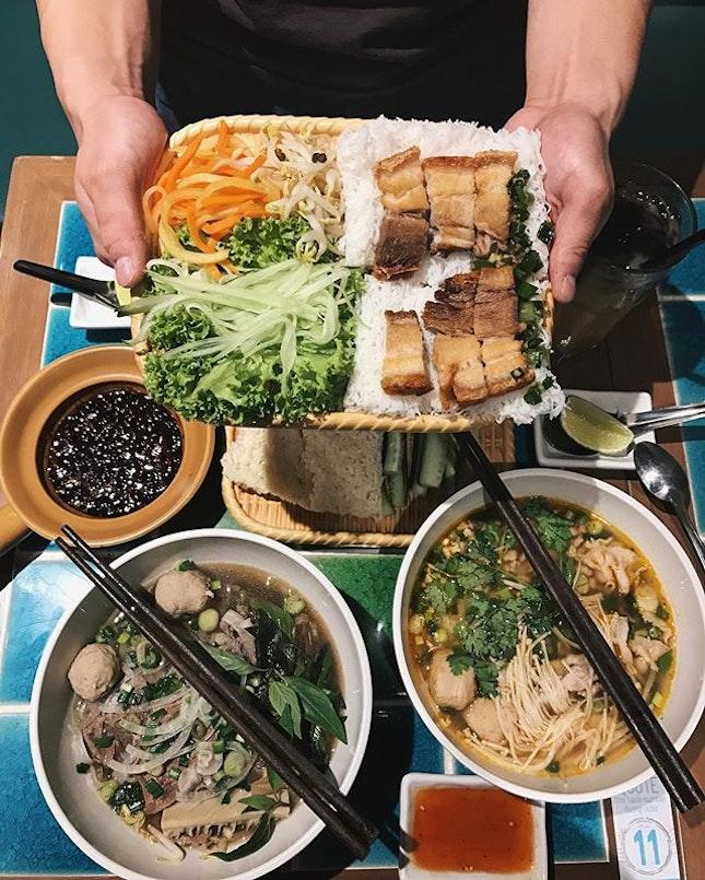 [Media tasting]  Dinner the other night at @pho_street!