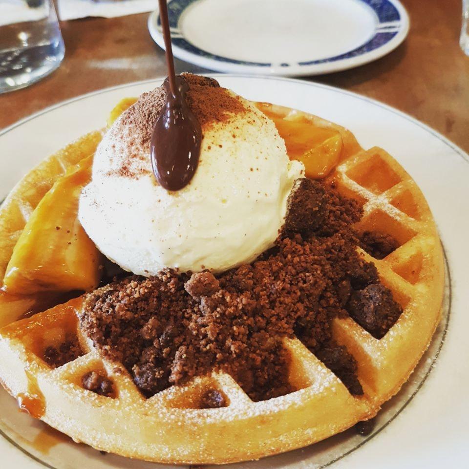 Milo Buttermilk Waffles