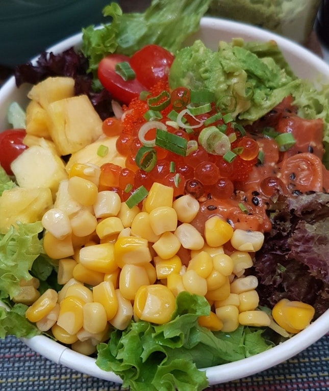 Poke Bowl With Unlimited Sauce