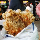 XXXL Chicken Cutlet from Hot Star but in Taiwan, it's a whole cut above the one in SG.