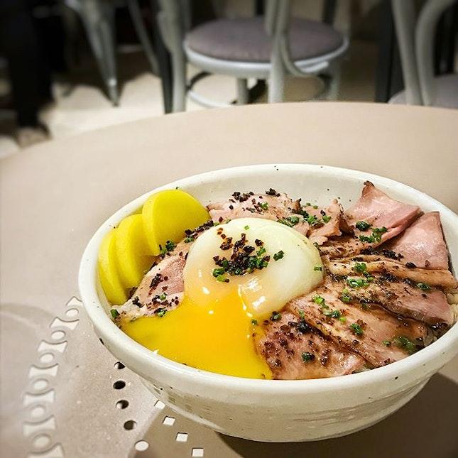 TGIF Truffle Yakiniku bowl ($18).