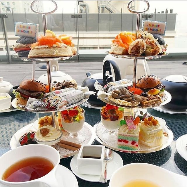 Missing high tea and cafes😍 anyway this was from Sevva in hongkong