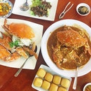 At the main branch for no signboard seafood restaurant.