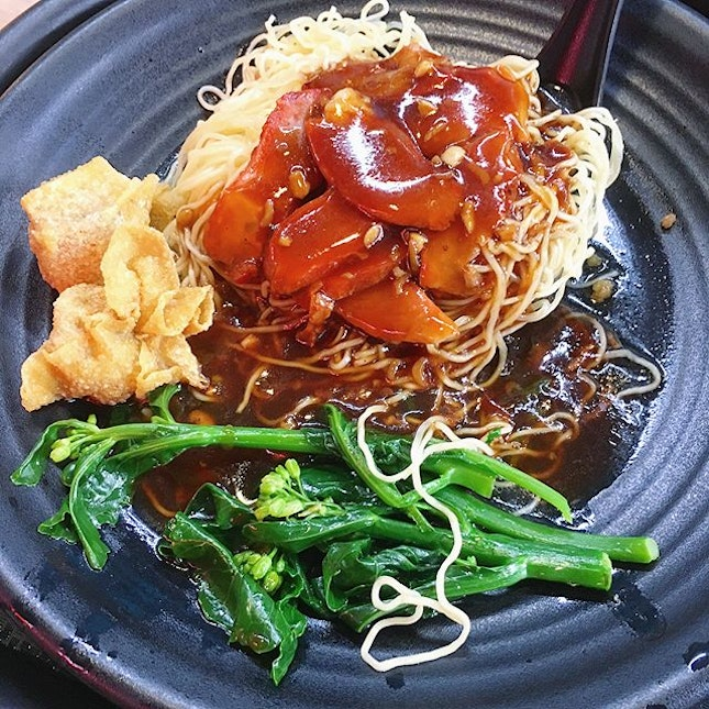 Missing this wanton noodle, so good but so far..