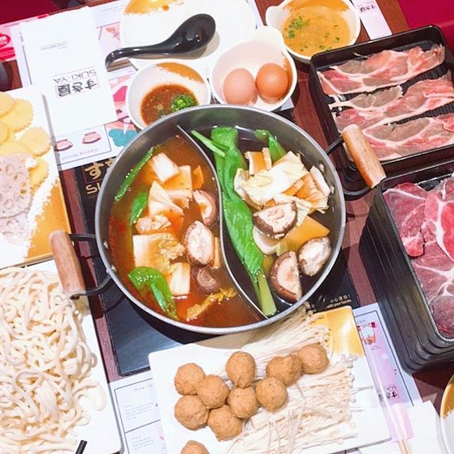 Hotpot/BBQ in Singapore