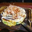 [Osaka, Japan🇯🇵] Okonomiyaki and Takoyaki are 2 of the must eats in Osaka.