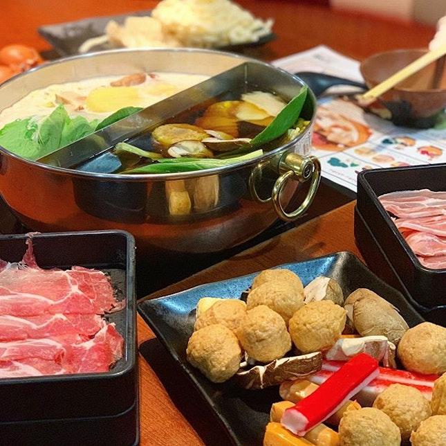 use @eatigo_sg for up to 50% deals for sukiyaki.