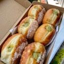 Pandan Donuts ($24)