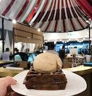 Mini Belgium Waffle + Single Scoop Ice Cream ($6)