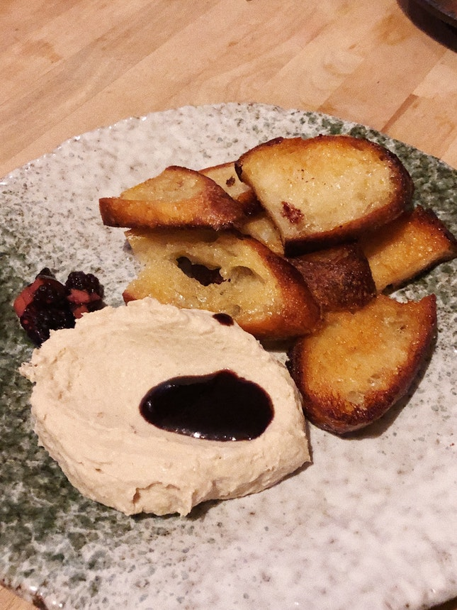 Smoked Sea bass Pâté ($14)