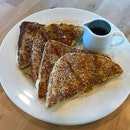French Toast With Maple Syrup ($5.00)